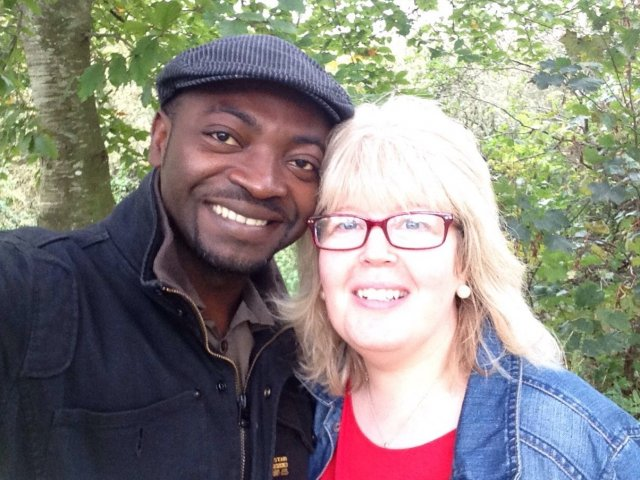 Interracial Couple Clare & Jeff - Bristol, England, United Kingdom