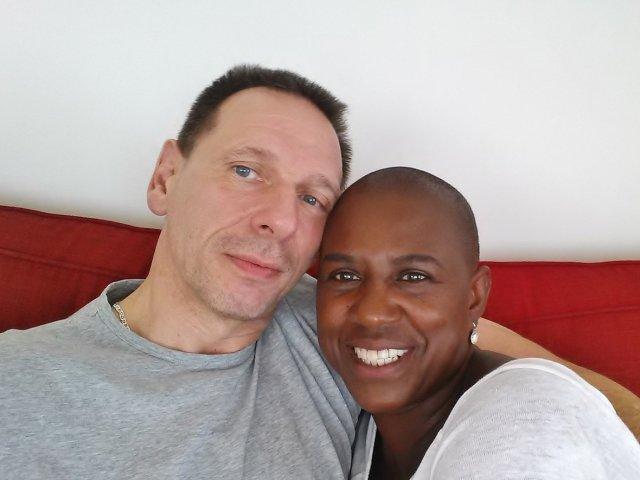 Interracial Couple Aurelia & Robert - Reutlingen, Baden-Wurttemberg, Germany