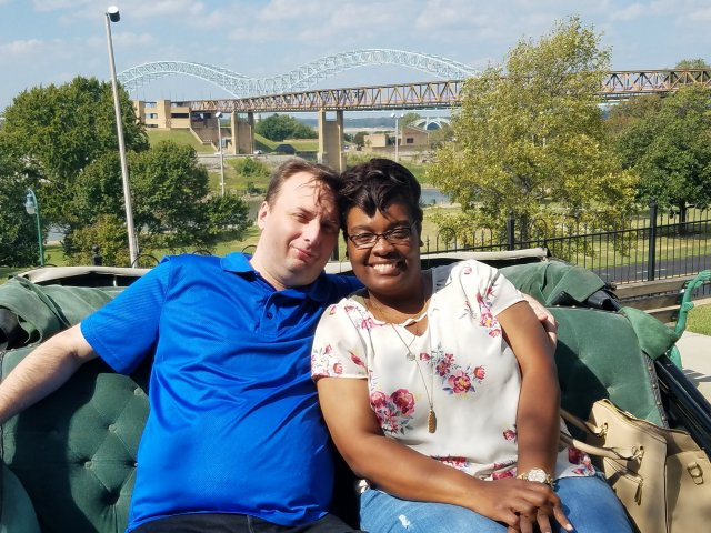 Interracial Couple Shequetta & Kenneth - Jackson, Tennessee, United States