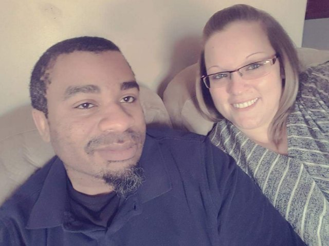 Interracial Marriage Christina & David - Princeton, Indiana, United States